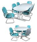 Mesas de Reunião Retangular e Oval