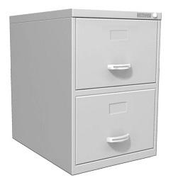 Arquivo de Aço, com 2 Gavetas Plus