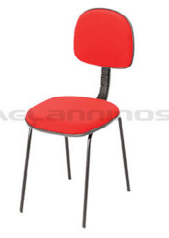 Cadeira Secretária Fixa 4 pés