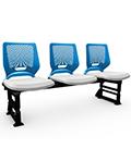 Cadeiras de Auditório Beezi Longarina