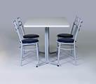 Conjunto 4 - Mesa para refeitório e cadeiras
